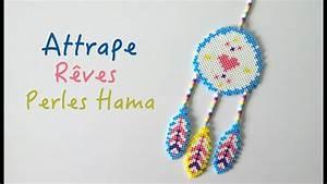 Faire Un Attrape Rêve Facile : comment faire un attrape r ves avec des perles repasser ~ Melissatoandfro.com Idées de Décoration