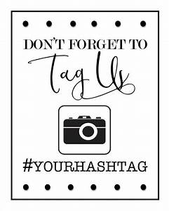 Don't forget to Tag us instagram/social media hashtag