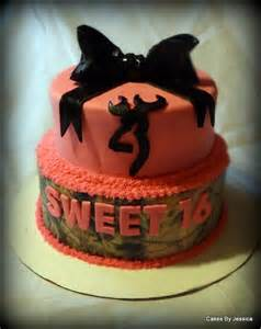Browning Sweet 16 Birthday Cake