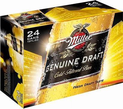 Miller Draft Beer Genuine Pack Cans Oz