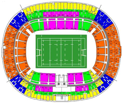 plan parc des princes rang 2016 seating plans bigsoccer forum