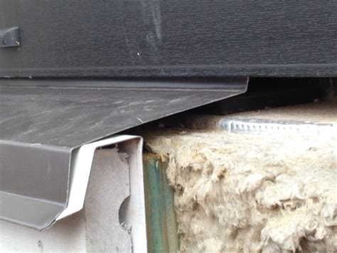 Metal Window Sill by Walls And Windows For The Orenco Passivhaus