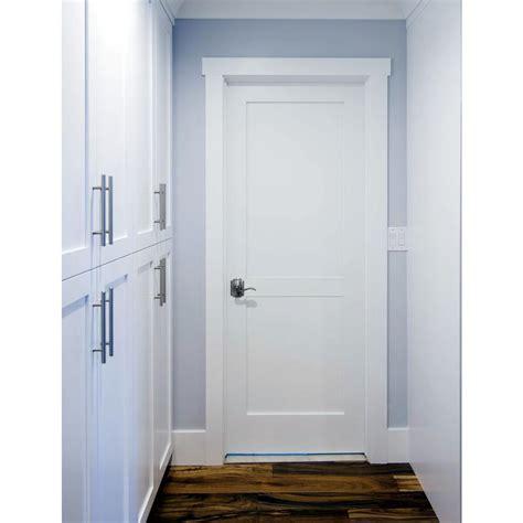 Home Depot 2 Panel Interior Doors by Krosswood Doors 36 In X 96 In Craftsman Shaker 2 Panel