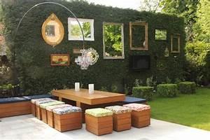 decoration d un jardin deco spa exterieur reference maison With mobilier de piscine design 5 deco mur exterieur homeandgarden