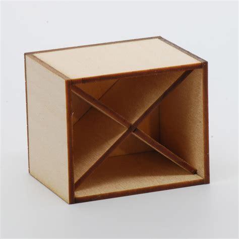 wine storage box kit stewart dollhouse creations