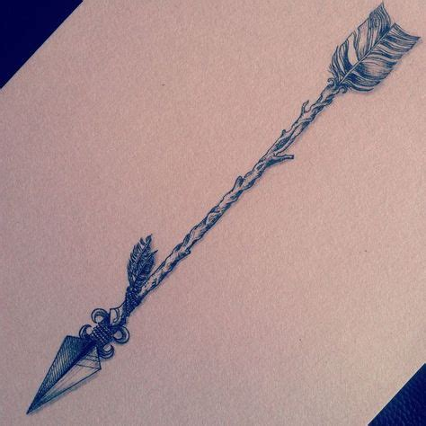 dessin tatouage fleche encre noire tatu tatouage