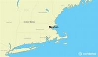 Where is Newton, MA? / Newton, Massachusetts Map ...