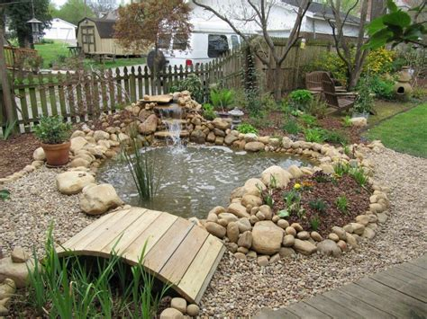 Awesome Backyard Pond Design, But It'll Need To Be Much