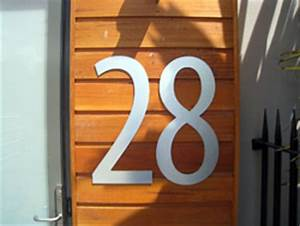 house numbers letters large cutout numbers letters With large house numbers and letters