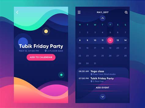 top  ui design trends  mobile apps   muzli