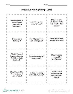 5th Grade Writing Worksheets & Free Printables Educationcom