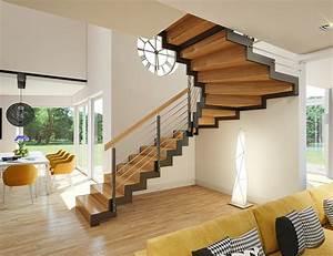 Stahltreppe Mit Holzstufen : k5 stahltreppe treppen chudzinski ~ Michelbontemps.com Haus und Dekorationen