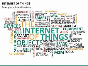Internet Of Things Powerpoint Template