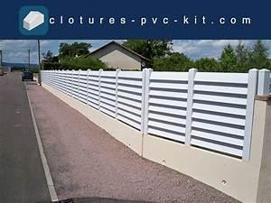 Kit Cloture Pvc : r alisations de nos clients cl tures pvc kit ~ Edinachiropracticcenter.com Idées de Décoration