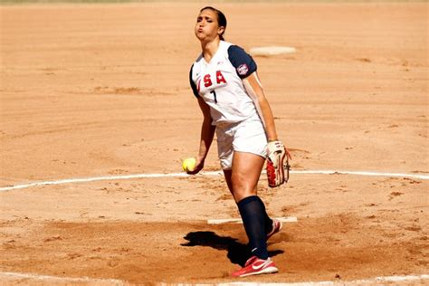 softball pitching facts woman