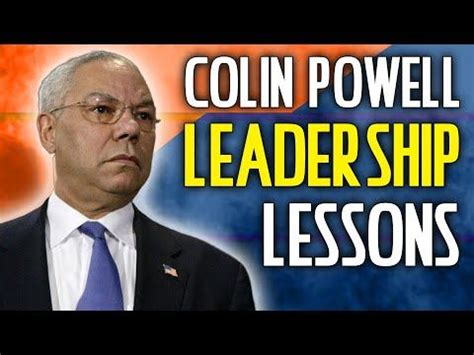 colin powell leadership lessons mike phillips https