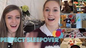 How To Plan The Perfect Sleepover Youtube