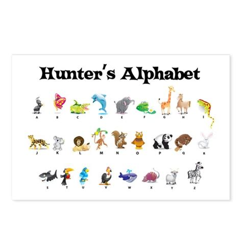 Kite, hunter x hunter ☆. Hunter's Animal Alphabet Postcards (Package of 8) by ...