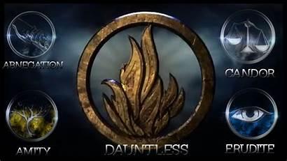 Factions Divergent Wallpapers Dauntless Desktop Fan Pc