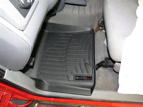 weathertech floor mats for trucks 2008 dodge ram pickup floor mats weathertech