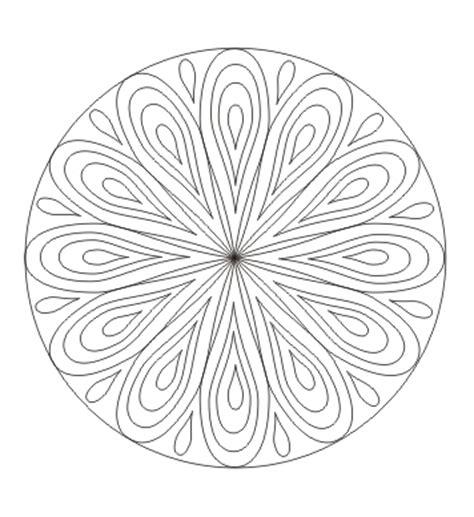 mandala mandala mit tropfen ausdrucken