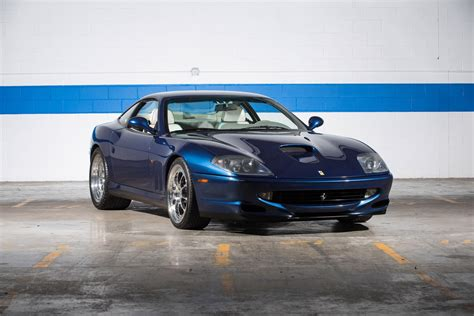 The timeless color scheme, combined with the classic manual gearbox and the low mileage, make this 550 maranello a very attractive vehicle and a very nice gran turismo that is a classic but still modern at the same time. 1999 Ferrari 550 Maranello   Motorcar Classics   Exotic and Classic Car Dealership Farmingdale, NY