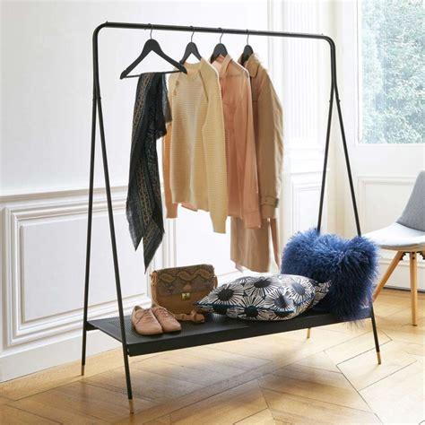 bureau et etagere 14 idées déco de portant à vêtements