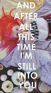 still into you paramore on Tumblr