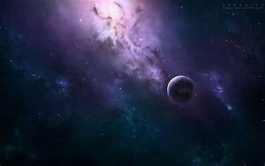 Outer space stars planets nebulae wallpaper | AllWallpaper ...