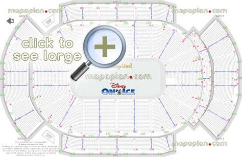 gila river arena seat row numbers detailed seating chart
