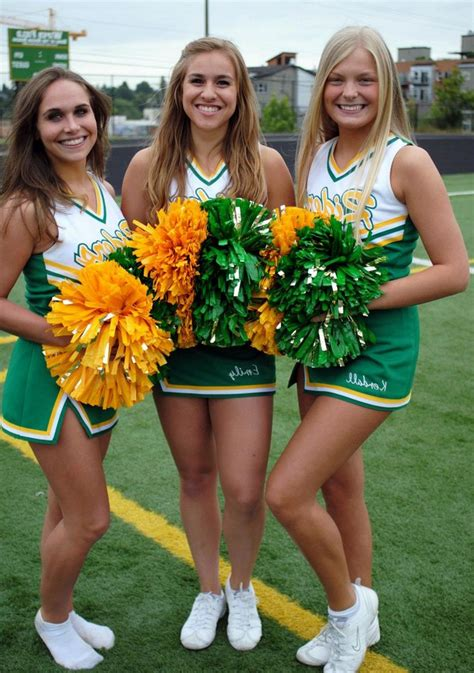 Candid Cheerleader Photo