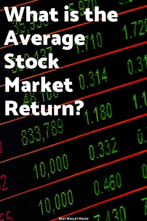 What is the Average Stock Market Return?