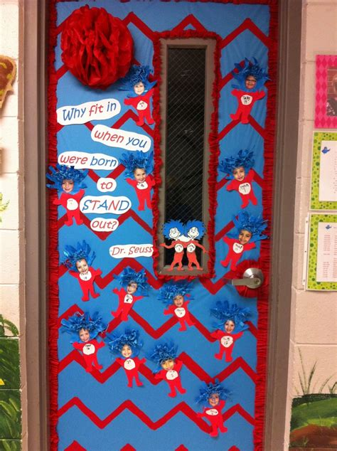 Dr Seuss Door Decorating Ideas by The Adventures Of Mrs Burnette