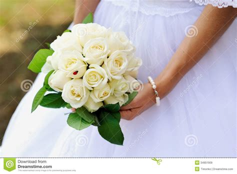 Wedding Bouquet Stock Image. Image Of Love, Elegance