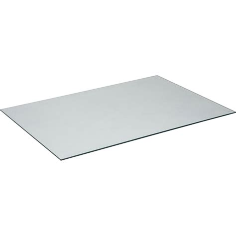 plateau de bureau en verre ikea plateau de table verre l 140 x l 72 cm x ep 8 mm leroy