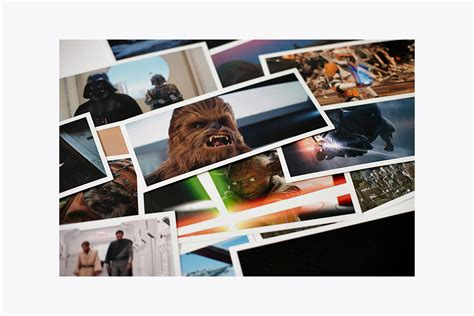 star wars frames postcards boxed set abrams