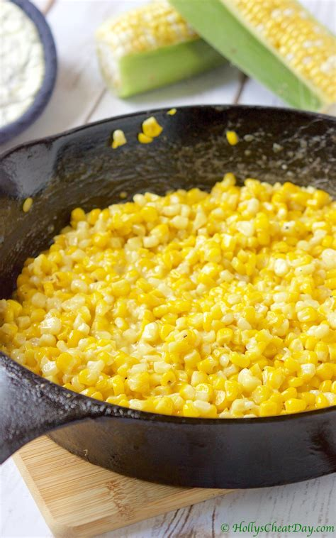 skillet corn summer southern series skillet fried corn holly s cheat day