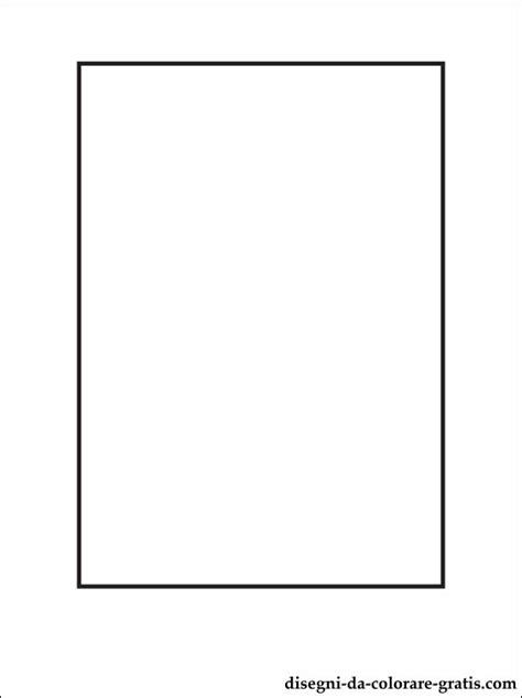 disegno  rettangolo da stampare disegni da colorare gratis