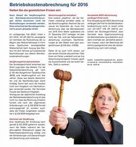 Immobilienkauf In Holland : betriebskostenabrechnung 2016 ~ Lizthompson.info Haus und Dekorationen