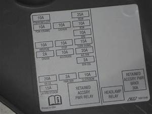 Buy 00 01 02 03 04 05 Chevy Impala Fuse Box Panel Dash