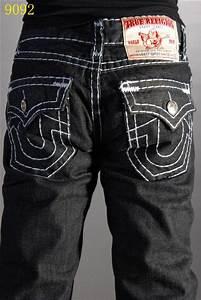 Men's True Religion Bootcut Jeans Black [jeanuk_23] - $56 ...