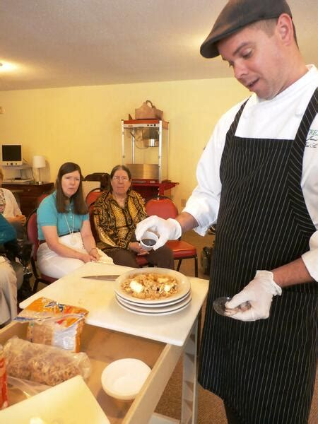 cooking class activities seniors microwave senior activity houston citizens calendar assisted living james