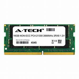 16gb Ddr4 2666 Memory Ram For Dell Precision 5510 5520