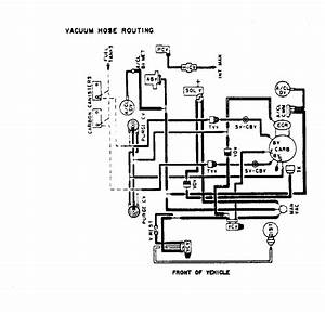 Engine Vacuum Hose Diagram