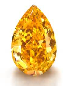 Largest Orange Diamond