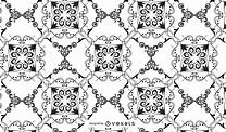 Damask Pattern Vector - Vector Download