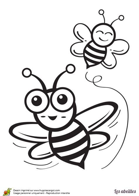 cuisine clipart coloriage abeilles stylisees sur hugolescargot com