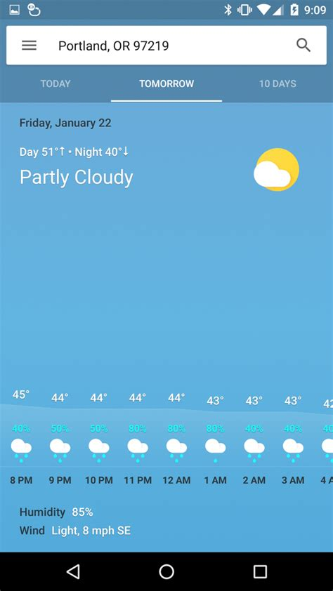 google weather awesome droid life