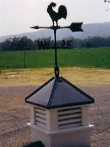 Barn Cupolas and Weathervanes