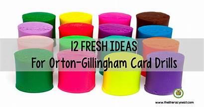 Orton Gillingham Phonogram Card Drills Fresh Lesson